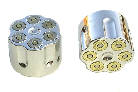 brass and nickel hubs