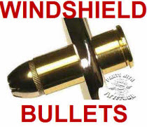 Bullet Windshield Bolts w/Bullet Tips
