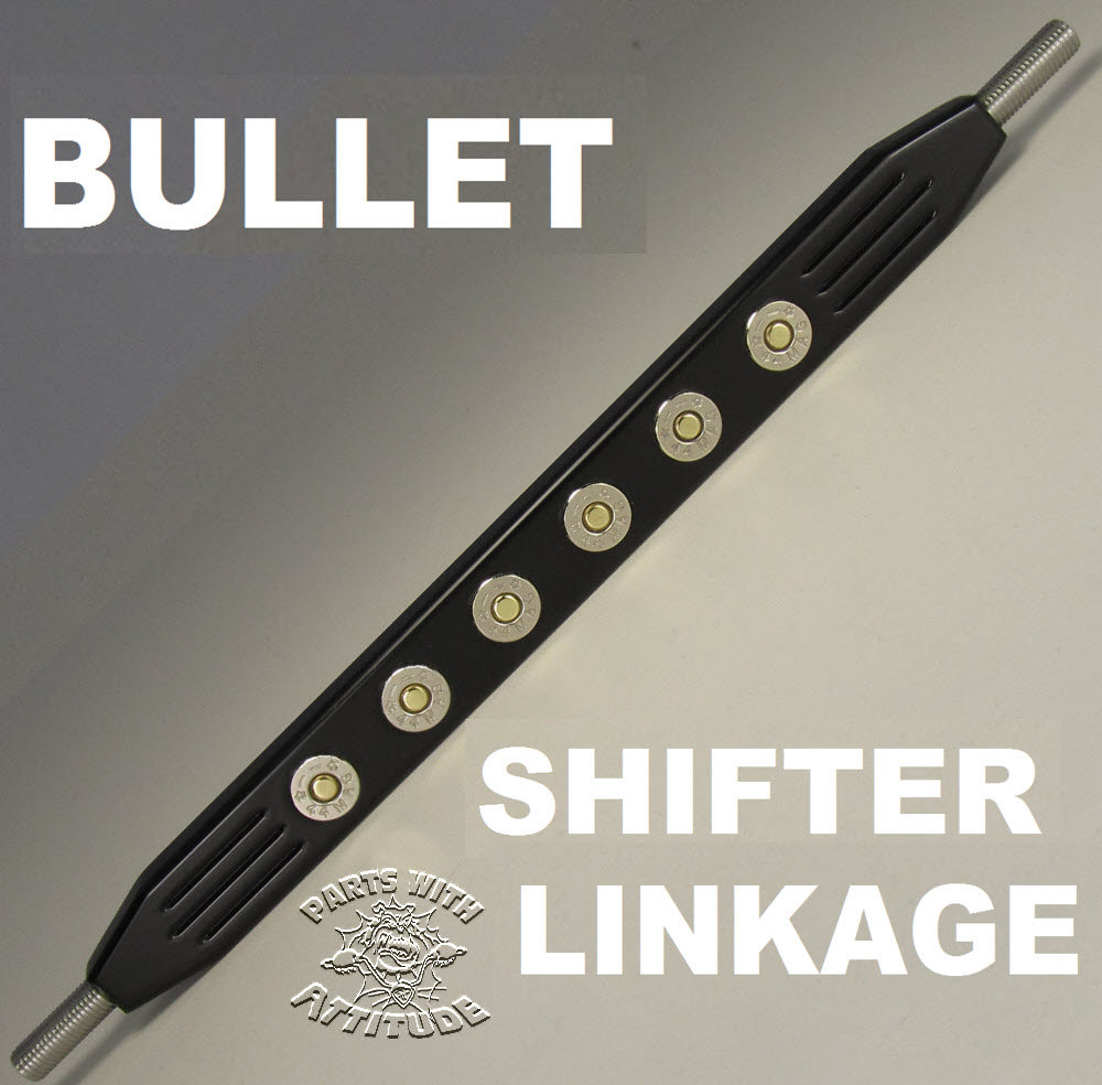 44 Mag Inlayed Bullet Shifter Link (BLACK)