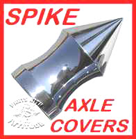 Spike Front Axle Covers